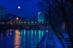 Luna plina deasupra Crisului | Oradea in imagini