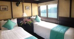 Bhaya Cruise - A Luxury Cruise in Halong Bay Vietnam Travel, Plan Your Trip, Travel Photos, Cabin, How To Plan, Luxury, Bed, Classic, Room