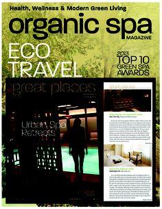 organic spa, urban retreats