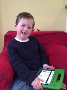 Richard Carlton, a boy with Down syndrome and autism
