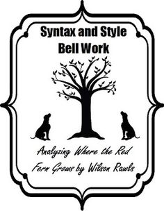 Fahrenheit 451 by Ray Bradbury: Syntax and Style Bell Work