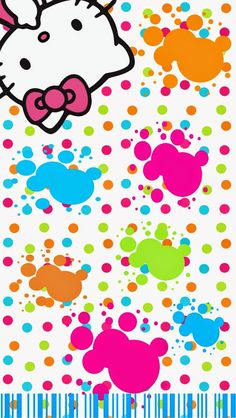 Dazzle my Droid: freebie kitty full of color wallpaper collection