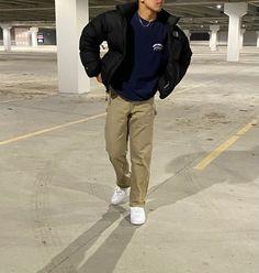 Street Style Outfits Men, Trendy Boy Outfits, Black Men Street Fashion, Winter Outfits Men, Cool Outfits, Casual Outfits, Fashion Outfits, Mode Streetwear, Streetwear Fashion