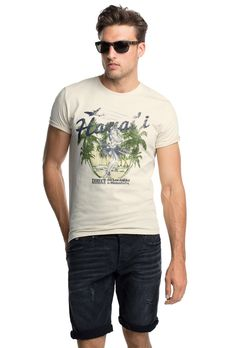 T-shirt Esprit con stampa 055EE2K003-E299