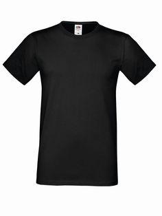 Koszulka Sofspun. Odzież meska. Producent: Fruit of the Loom. Numer katalogowy: 614120. Materiał: 100% bawełna. Gramatura: 160g/165g.