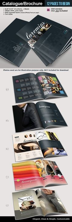 Catalogue Brochure | traditional layout