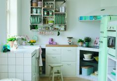 Okay, so Plan A, win the mega mega million billion lottery and this would be the kitchen in my Danish house