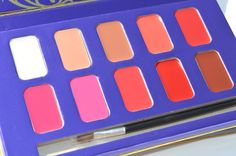 Anna Sui Eye Shade And Lip Colour Palettes Evaluation And Swatches | Make-up Blog