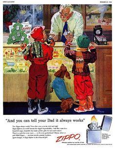 15 Vintage Christmas Advertisements (15 Pictures) > Design und so, Fashion / Lifestyle, Funny Shizznits, Netzkram > ads, campaigns, vintage, weihnachten, xmas