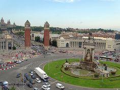 Barcelona- Placa Espanya   Útikalauz