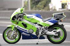ZXR750 - Kawasaki race motor