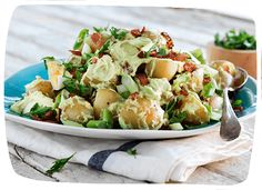 Creamy Avocado and Mayo Potato Salad