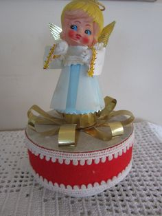 Hey, I found this really awesome Etsy listing at https://www.etsy.com/ca/listing/472707086/vintage-musical-christmas-decoration