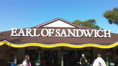 Earl of Sandwich - Downtown Disney...my favorite place in Downtown for an amazing sandwich...yum!!