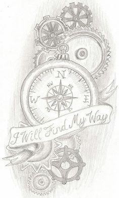My tattoo. I will find my way