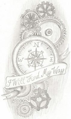 My tattoo. I will find my way