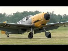 ▶ 75 year old Messerschmitt BF109 E4 flys again - YouTube - The only surviving Messerschmitt BF109E-4 still flying. It was shot down and belly landed in a field during the Battle of Britain in 1940. It is currently with the Russel Aviation Group, Ontario Canada.