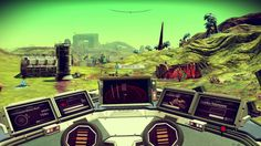 No Man's Sky - extreme conditions