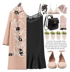 """""""Without a Word - Please Read"""" by bellacharlie ❤ liked on Polyvore featuring Carven, Marni, Chloé, Etiquette, Kate Spade, Mario Portolano, Clinique, women's clothing, women's fashion and women"""