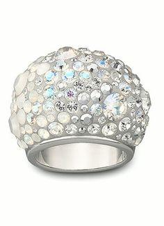 Swarovski Chic White ring 993751