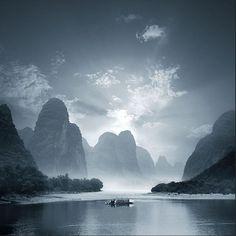 Yang Shuo, China by Bernardo and Tomas Medina, a Houston based father-son photography team.