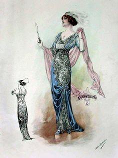 1913 fashion plate.