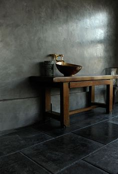 Gorgeous Tadelakt Bathroom Design Ideas For Unique Bathroom Bathroom Inspiration, Interior Inspiration, Small Toilet, Guest Toilet, Tadelakt, Wet Rooms, Simple Bathroom, Amazing Bathrooms, House Rooms