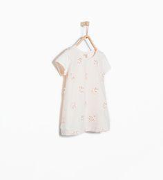 Afbeelding 1 van Gecombineerd shirt met geborduurde bloemen van Zara