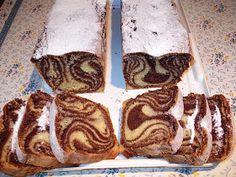 diana's cakes love: Chec Zebra, in doua culori Romanian Food, Sweet Bread, Baking, Fruit Cakes, Sweets, Deserts, Bakken, Backen, Pastries