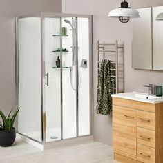 Clearlite Bathrooms supply baths, showers, vanities, and more bathroomware for Auckland and New Zealand Safety Glass, Glass Panels, Sliding Doors, Glass Door, Space Saving, Bathroom Medicine Cabinet, Minimalism, Chrome, Vanity