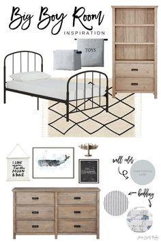 Budget friendly Big Boy Bedroom Inspiration