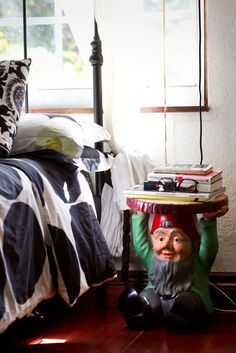 marimekko + gnome, perfect  The Advantages of Slow Renovation - Slide Show - NYTimes.com