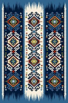 Thai Pattern, Pattern Art, African Tribal Patterns, Islamic Motifs, Native American Rugs, Paisley, Classic Rugs, Blue Pottery, Geometric Designs