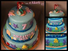 Ariel (under the sea themed cake)