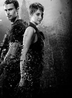 Divergent Niezgodna Insurgent Zbuntowana Tris Tobias
