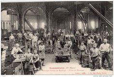 principal atelier de moulage  usine Durenne Sommevoire