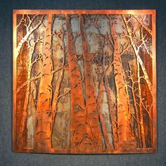 Benjamin BJamin' Stielow Custom Metal Artwork - metal-art do this with copper Metal Tree Wall Art, Metal Wall Sculpture, Tree Sculpture, Metal Artwork, Copper Artwork, Copper Wall Art, Tree Artwork, Custom Metal, Hanging Art