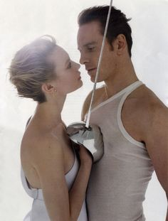 Michael Fassbender  Mia Wasikowska (both in film Jane Eyre)