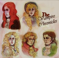Vampire Chronicles- Portraits by HitomiTatsuyo.deviantart.com on @DeviantArt