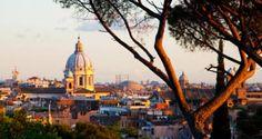 Kävelyretkiä Roomassa.