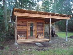 the homestead is not complete without a wood-fired sauna.