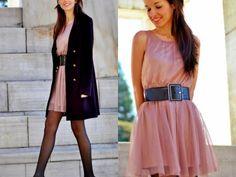 Vestido Rosa Con Medias Negras Br9400228 Breakfreewebcom