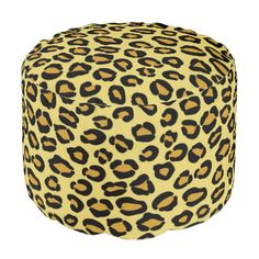 seamless leopard background © and ® Bigstock® - All Rights Reserved. Leopard Pattern, Orange Pattern, Large Furniture, Cute Gifts, Textile Texture, Poufs, Color, Pretty, Inspiration