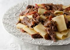 Shredded Short Ribs with Pappardelle Recipe on Yummly