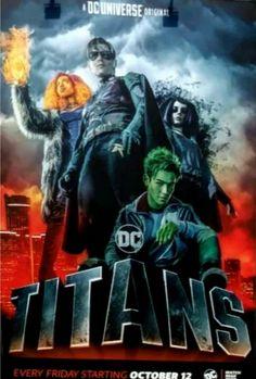 Deathstroke, Titans Tv Series, Raven Beast Boy, New Titan, Sci Fi Tv Shows, Teen Titans Go, Young Justice, Marvel Dc Comics, Marvel Heroes
