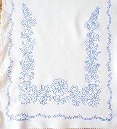 Венгерский Kalocsa салфетка шаблон DIY новый для ручной вышивки Большого Бегуна | eBay