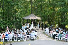 Gazebo Wedding at 655 West, Hiram GA.