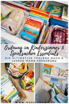 Finally, order in the nursery & toys Mum's time to give - Kind - Baby Diy Teen Girl Bedrooms, Kids Bedroom, Nursery Toys, Parents Room, Diy Bebe, Baby Zimmer, Kids Corner, Kidsroom, Room Organization