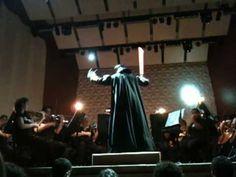 Darth Vader conducting an orchestra #DarthVader #StarWars
