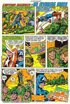 Seanbaby's Hostess Page - Captain America in An Invading Army
